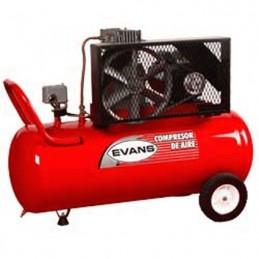 Compresor De Banda 3 Hp 108 Litros 12 Pcm Evans Ve150Me300108 VE150ME300108 EVANS