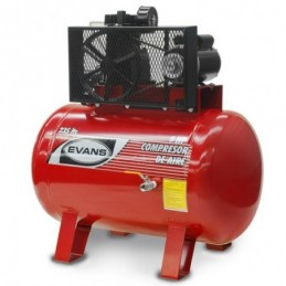 Compresor De Banda 5 Hp 235 Litros 12 Pcm Bifásico Evans Ve170Me500235 VE170ME500235 EVANS