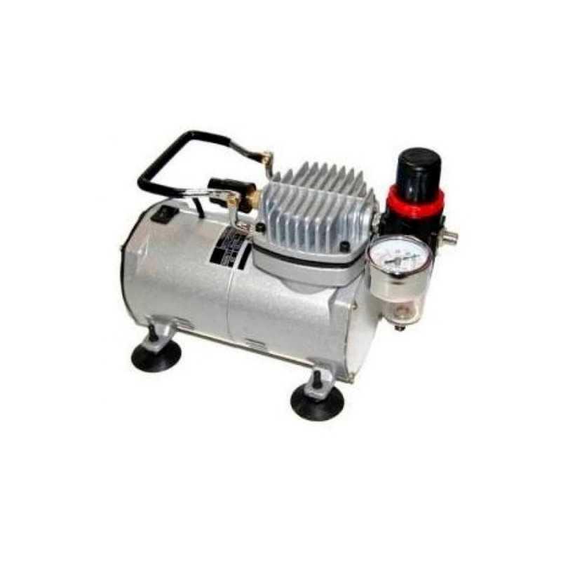 Mini Compresor P/pincel De Aire 1/8 Hp ADIR ADIR0675 ADIR0675 ADIR