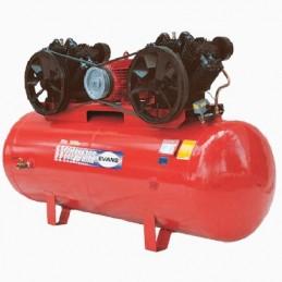 Compresor De Banda 20Hp 1,000Lts 72 Pcm 2 Etapas 2 Cabezas Trif Evans Ve920Me2000999 VE920ME2000999 EVANS