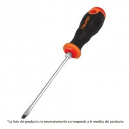 Desarmador plano 3/4x6' mango comfort grip TRUPER TRUP-14000 TRUP-14000 TRUPER