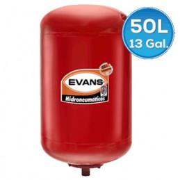 Tanque Hidroneumatico De Membrana 50 Litros Evans Eqth050Le VEQTH050LE EVANS