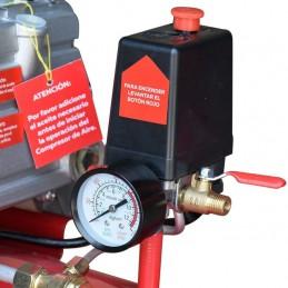 Compresor Direct Drive 50 Litros 3.5 Hp 110 Volts 115 Psi CALIFORNIA HUSKY-HKC50L HUSKY-HKC50L CALIFORNIA AIR