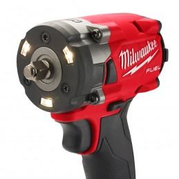 Llave de impacto compacta M18 FUEL ™ 3/8 con juego de anillos de fricción MILWAUKEE 2854-22 MIL2854-22