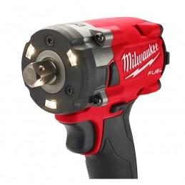 Llave de impacto compacta M18 FUEL ™ 1/2 con juego de tope de pasador MILWAUKEE 2855P-22 MIL2855P-22