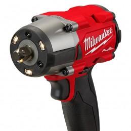 Llave de impacto de torque medio M18 FUEL ™ 1/2 con juego de tope de pasador MILWAUKEE 2962P-22 MIL2962P-22