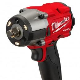 "Llave de impacto de torque medio M18 FUEL™ de 1/2"" con anillo de fricción MILWAUKEE 2962-22 MIL2962-22"