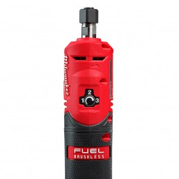 """Kit de rectificadora de troqueles recta M12 FUEL™ de 1/4"""" con 2 baterías MILWAUKEE 2486-22 MIL2486-22"""