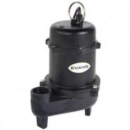 Motobomba Sumergible Para Agua Sucia 1 Hp Monofisica Evans Ssn2Me100 VSSN2ME100 EVANS