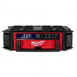 Radio + Cargador M18 ™ PACKOUT ™ MILWAUKEE 2950-20 MIL2950-20