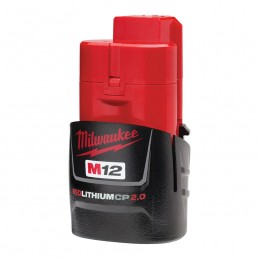 Batería CP2.0 REDLITHIUM™ M12™ MILWAUKEE 48112420 AMIL48112420