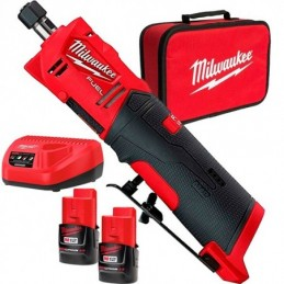 "Rectificadora De Troqueles Recta M12 Fuel De 1/4"" Kit MIL2486-22 MILWAUKEE ACCESORIOS"