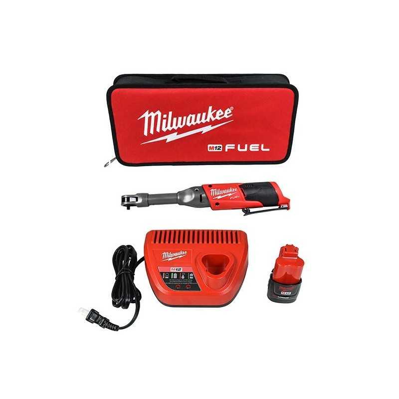 "Trinquete De Alcance Extendido M12 Fuel 1/4"" Kit MIL2559-21 MILWAUKEE ACCESORIOS"