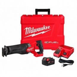 Sierra Sable M18 Fuel Sawzall® Con Bateria Y Cargador MIL2821-21 MILWAUKEE ACCESORIOS