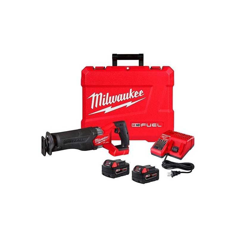 Sierra Sable M18 Fuel Sawzall® Kit Con Dos Bateria Y Cargador MIL2821-22 MILWAUKEE ACCESORIOS
