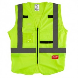 Chaleco De Seguridad Resistente Amarillo Ultra Reflejante Ch/M AMIL48735081 MILWAUKEE