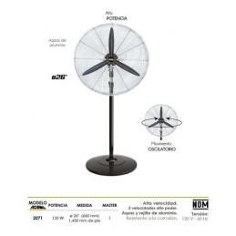 """Ventilador Industrial Con Pedestal 26"""" Adir 2071 ADIR2071 ADIR"""