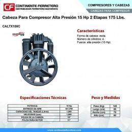 Cabeza Para Compresor Alta Presion 15 Hp Tx150C CALIFORNIA CALTX150C-1 CALTX150C-1 CALIFORNIA AIR