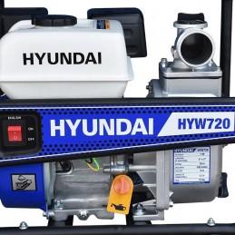 """Motobomba A Gasolina 2X2"""" Motor 7 Hp Hyundai HYW720 HYU-HYW720 HYUNDAI"""