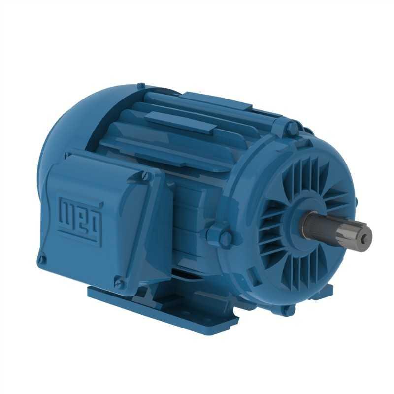 Motor Electrico 1 HP Trifasico 4 Polos Ug Nema Premium WEG 12860528 WEG0081 WEG0081 MOTORES WEG
