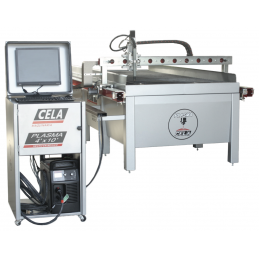 Mesa de corte plasma CNC CELCNC4x10