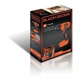 Taladro eléctrico destornillador Black+Decker LD008 BDLD008KA-B3 BLACK AND DECKER