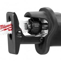 """Sierra Sable Alámbrica De 0-3000, 3/4"""" Con Motor De 12 Amp + Estuche De Almacenaje. Milwaukee 6509-31 MIL6509-31 MILWAUKEE"""