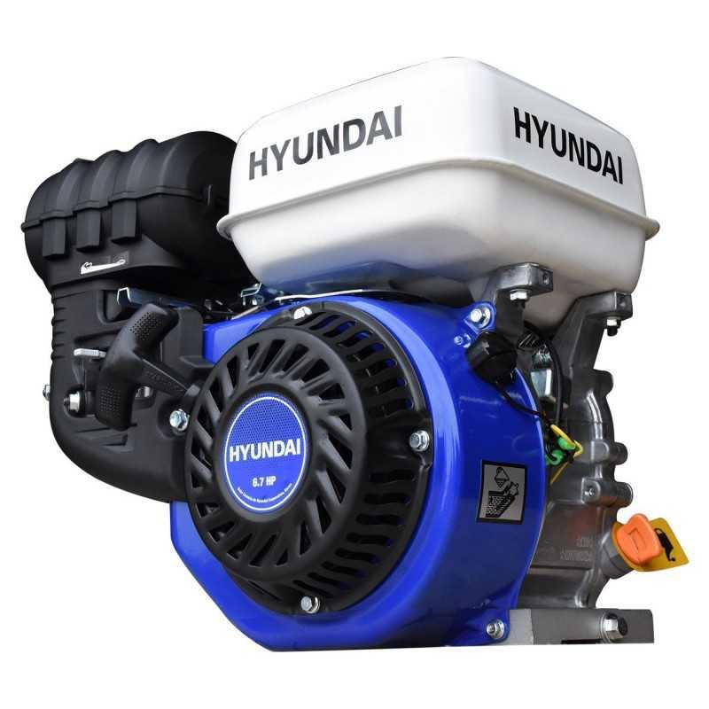 Motor A Gasolina 6.7 Hp C/cuñero HYUNDAI HYU-HYGE670 HYU-HYGE670 HYUNDAI