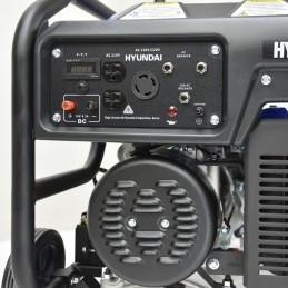 GENERADOR HYUNDAI A GASOLINA 6000W 110V/220V 13.1 HP HYUNDAI HYU-HYE6000 HYU-HYE6000 HYUNDAI
