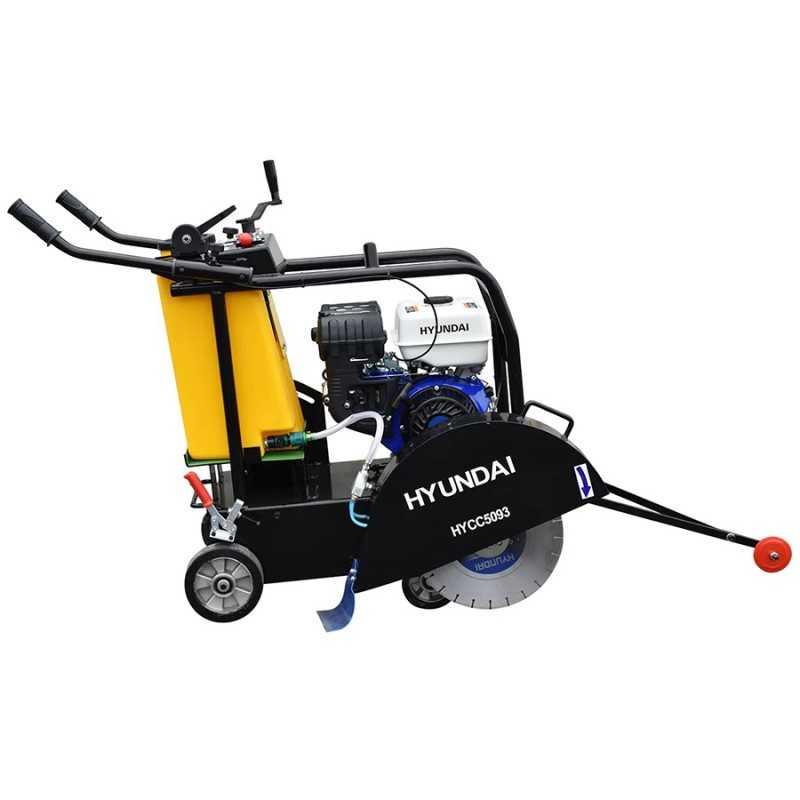 Cortadora De Concreto A Gasolina 9.3HP HYUNDAI HYU-HYCC5093 HYU-HYCC5093 HYUNDAI