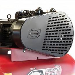 Compresor De Banda 10 Hp 500 Litros 36 Pcm 2 Etapas Trifásico Evans Ve460Me1000500 VE460ME1000500 EVANS