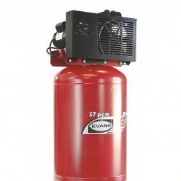 Compresor De Banda Vertical 5 Hp 235 Litros 12 Pcm Bifásico Evans Ve170Me500235V VE170ME500235V EVANS