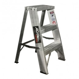Escalera Tijera de Aluminio 2 Peldaños 61 CM Adir 10524 ADIR10524 ADIR