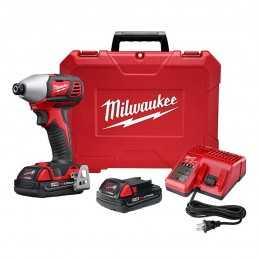 "Llave De Impacto 1/4"" 18 Volts 2,750 Rpm Milwaukee 2657-22CT MIL2657-22CT MILWAUKEE"