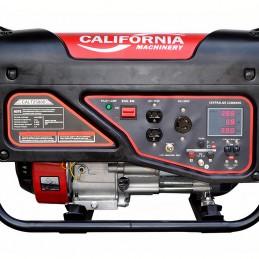 Generador A Gasolina 2,200 Watts 5.5 Hp Silencioso California Machinery CALT2500S CALT2500S CALIFORNIA CONSTRUCTION