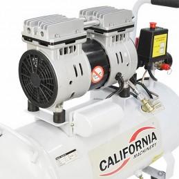 Compresor Silencioso 1 Hp 50 Lts 110 V California Air CALN1-50 CALIFORNIA MACHINERY