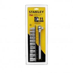 """Juego de dados mando 1/2"""" Estandar 86-735 Stanley STN86735 STANLEY"""