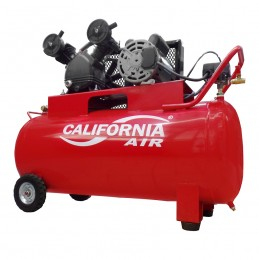 Compresor De Aire 1 Hp 108 Lts. Monofasico 110/220V CALCV-00003 CALIFORNIA MACHINERY