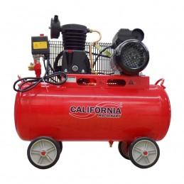 Compresor de aire banda de 50 litros de 1.5 hp California CALN3-001 CALIFORNIA AIR