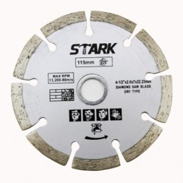 "Disco Concreto Guarnecido De Diamante 4 1/2"" Stark Tools 06300 STK06300 STARK"