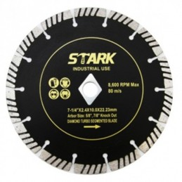 "Disco Concreto Diamond Turbo 7 1/4"" Stark Tools 06620 STK06620 STARK"
