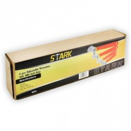 Llaves Pericas Ajustables 4 Piezas Stark Tools 18104 STK18104 STARK