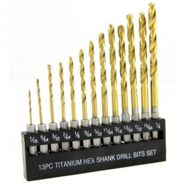 Broca Titanioalta Velocidad 13 Piezas Stark Tools 32613 STK32613 STARK