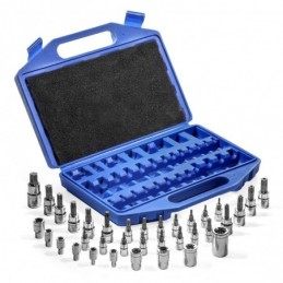 Puntas Dados Hexagonal Intercambiables 35 Piezas Stark Tools 33802 STK33802 STARK