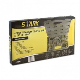 Tarraja Hexagonal Titanio 40 Piezas Stark Tools 37100 STK37100 STARK