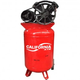 Compresor De Banda Vertical 1-1/2 Hp 96 Litros 120 Psi California Machinery CALC96TB11/2KIT CALC96TB11/2KIT CALIFORNIA AIR