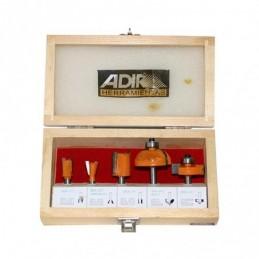 Brocas Para Router 5 Piezas Profesionales Adir 0157 ADIR0157 ADIR