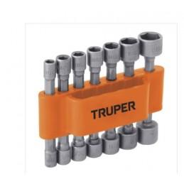 Dados Para Taladro 14 Piezas Truper 12844 TRUP-12844 TRUPER