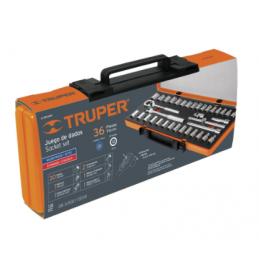 """Autoclé Cuadro 3/8"""" 36 Piezas Truper 13955 TRUP-13955 TRUPER"""