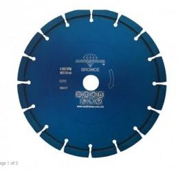 Disco De Diamante Azul Austromex 837 Segmentado Uso General AUS837 AUSTROMEX